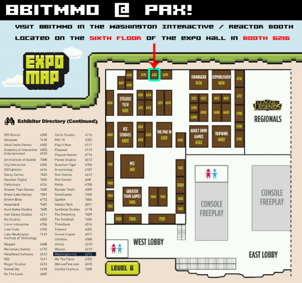 This is an image of pax booth map -</p><br /><br /><br /> <p>you're gonna wanna enable images for this newsletter. so</p><br /><br /><br /> <p>many pics!