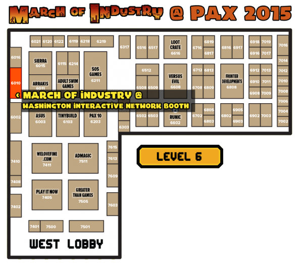 PAX Map - transparent