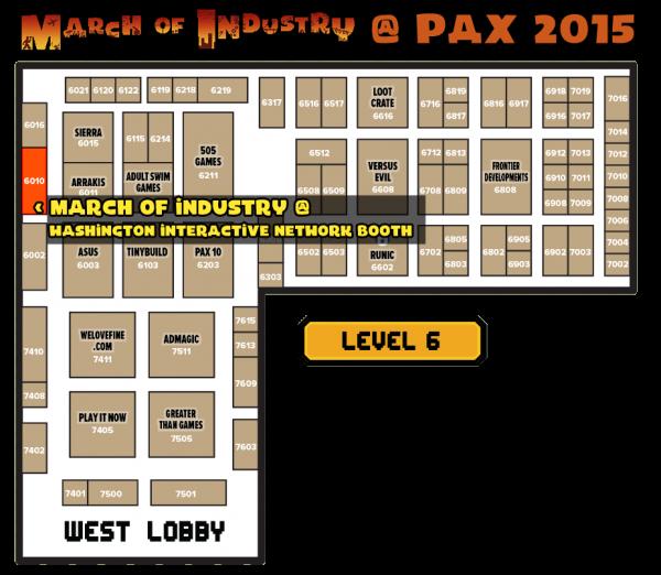 PAX Map - transparent